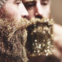 barbe à paillettes