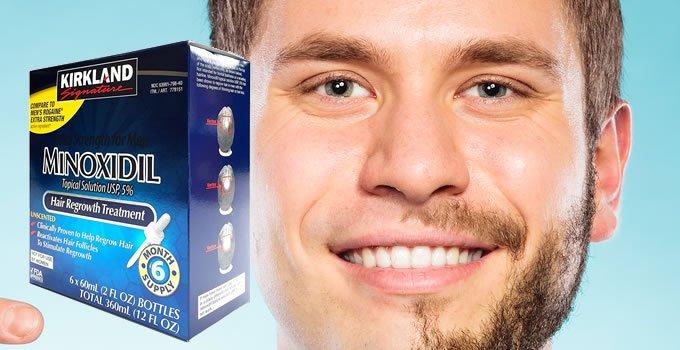 Le Minoxidil et la barbe!