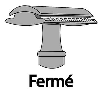 Peigne Fermé