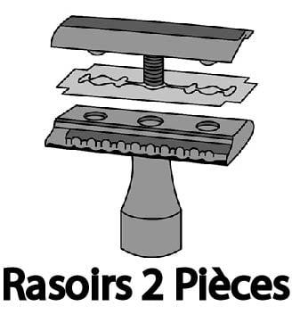 Rasoirs 2 Pièces