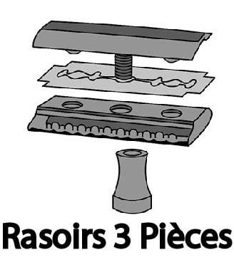 Rasoirs 3 Pièces