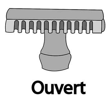 Peigne Ouvert